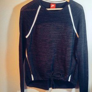 Nike Sweat Top Dark Grey M